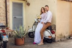 Wedding in Tuscany. Happens in movies, happens in real life.