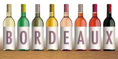 Bouteilles Vin de Bordeaux x 8