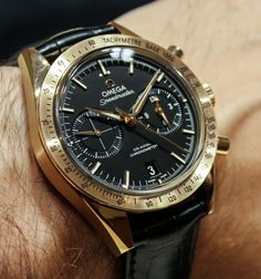 Baselworld 2013: Omega Speedmaster '57 Co-axial Chronograph Watches Hands-On