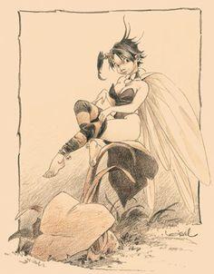 Régis Loisel Clochette aka Tinkerbell from Peter Pan