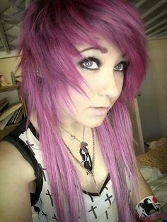Really wanting to color my hair pinkish purple