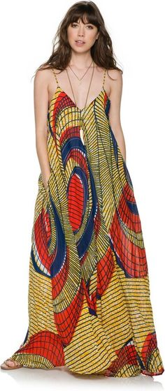 African-Style-Funky-Dress Funky Outfits for Ladies - 30 Ways to Look Funky for Women African Fashion Designers, African Inspired Fashion, African Dresses For Women, African Print Dresses, African Print Fashion, Africa Fashion, African Attire, African Wear, African Women