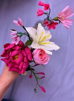 #crepepaperflowers #diyflowerdecor Crepe Paper Flowers, Jewelry, Jewellery Making, Jewerly, Jewelery, Jewels, Jewlery, Fine Jewelry, Accessories
