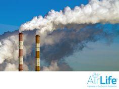 Ayudamos a las industrias a contaminar menos. LAS MEJORES SOLUCIONES EN PURIFICACIÓN DEL AIRE. Las actividades cotidianas del hombre, son las principales fuentes de la contaminación atmosférica, sobre todo las que se realizan en las grandes industrias. En AirLife, hemos diseñados tratamientos especiales para que éstas, contaminen menos. Te invitamos a consultar más información en nuestro sitio en internet www.airlifeservice.com. #airlife