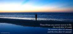 the 3 Things  .  .  .