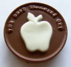 Gourmet Chocolate Best Teacher Apple