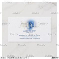 Realtor   Family Home Business Card