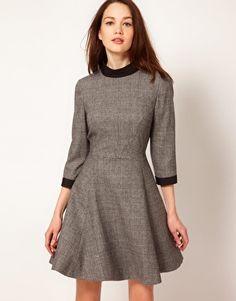 Enlarge Ted Baker Dress with Full Skirt