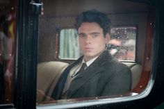 """Richard Madden in """"A Promise"""", with Alan Rickman and Rebecca Hall (2013)"""