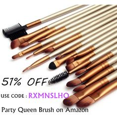 PROMOTION NOW !!! #partyqueenbeauty #partyqueenbrushes