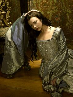 Natalie Dormer as Anne Boleyn in The Tudors - one of the most beautiful ladies out there