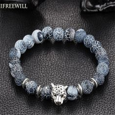 Buddha bracelet homme Silver Plated as Kurata fashion Latest Style charm Bracelet mens Jewelry IFREEWILL Wholesale Bracelets