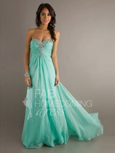 6d8d8bd3bab 2013 Style A-line Sweetheart Rhinestone Sleeveless Floor-length Chiffon  Prom Dresses   Evening Dresses (SZ0302055) - FabHomecomingDress.com