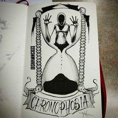 Artist Behind Mental Health Horror Art Created A New Series Based On Phobias - Popcorn Horror Creepy Drawings, Dark Art Drawings, Creepy Art, Arte Horror, Horror Art, Dark Art Illustrations, Illustration Art, Art Sinistre, Art Du Croquis