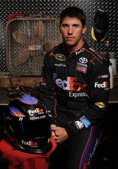 Denny Hamlin... The reason I love NASCAR