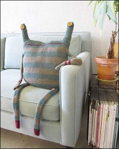 Garantindo meu lugar no sofá...