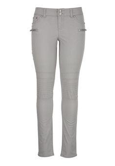 Zip Pocket Skinny Pants - maurices.com