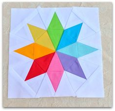 sew south paper pieced star by TheSewingChick, tutorial