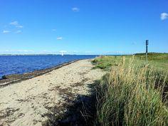 Strand in Langballigau an der Flensburger Förde, Ostsee, Schleswig-Holstein