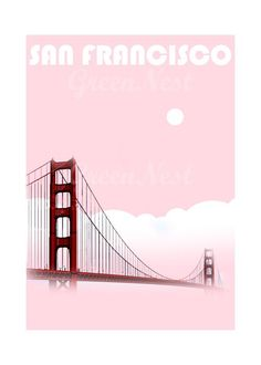 Aqua San Francisco Golden Gate Bridge Collage Poster Print , originally uploaded by Green Nest . I made a San Francisco Golden Gate Bridge C. Aqua Decor, New York City Map, San Francisco Bay, Still Life Photography, Modern Wall Art, Illustrations, Golden Gate Bridge, Travel Posters, Poster Prints