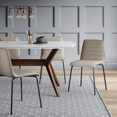 Small dining room ideas to take advantage of your space - Dova Home High Back Accent Chairs, Accent Chairs For Sale, Accent Chairs Under 100, Accent Chairs For Living Room, Compact Table And Chairs, Balcony Table And Chairs, Shabby Chic Table And Chairs, Tiny Dining Rooms, Small Dining