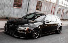 Visit The MACHINE Shop Café... ❤ Best of Audi @ MACHINE... ❤ (2010 Audi A4 Avant w/ RS5 Front)