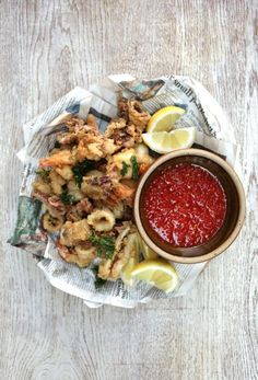 crispy squid & prawns with homemade sweet chilli sauce | Jamie Oliver | Food | Jamie Oliver (UK)