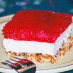 Pretzel Jello Dessert 2 ounce) packages strawberry Jell-O gelatin dessert 2 ounce) frozen strawberries 3 cups crushed pretzels cup melted butter 3 tablespoons sugar 8 ounces cream cheese 1 cup sugar 8 ounces Cool Whip Strawberry Pretzel Jello Dessert, Jello Pretzel Desserts, Jello Pretzel Salad, Jello Dessert Recipes, Fun Desserts, Delicious Desserts, Yummy Food, Yummy Recipes, Pretzel Recipes