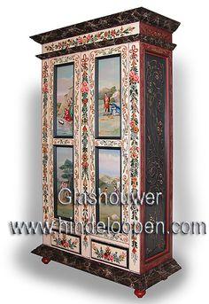 Collectie Schilderkunst - Atelier Glashouwer   Hindelooper schilderkunst & traditionele stoffen