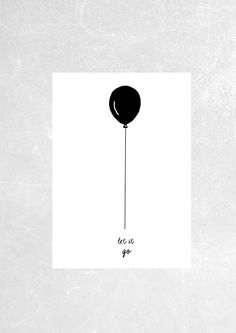 Art print muurschildering poster Let it go Easy Doodles Drawings, Mini Drawings, Simple Doodles, Quote Posters, Quote Prints, Art Prints, Motivational Picture Quotes, Wall Quotes, Inspiring Quotes
