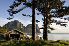 Top Honeymoon Destinations in Australia - Pinetrees Lodge, Lord Howe Island - Brisbane Wedding Weekly