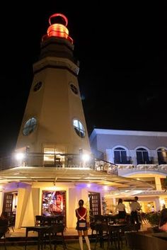 The Lighthouse, Subic Bay - Philippines Places Ive Been, Places To Go, Underground Bar, Subic Bay, Marina Resort, Samar, Light House, Cool Bars, Travel List