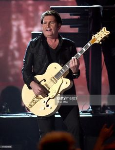 Guitarist Charlie Burchill of Simple Minds performs onstage during the 2015 Billboard Music Awards at MGM Grand Garden Arena on May 17, 2015 in Las Vegas, Nevada.