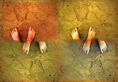 feet art
