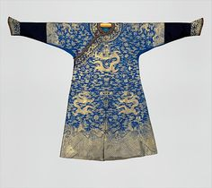 Festival Robe, second half of the 18th century. Qing dynasty (1644-1911). The Metropolitan Museum of Art, New York. Gift of Lewis Einstein, 1954 (54.14.2)