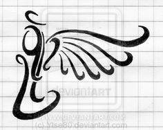 small angel tattoos - Google Search                              …
