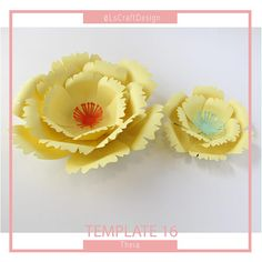 You know you can do beautiful things with your hands and you have made many Diy, but now you want to make paper flowers ... maybe have a party, a wedding or a baby shower, this is the perfect occasion to have a curtain of Background or maybe a whole wall with them.  Try it, its super easy and it will be an impact for your activity. The downloadable PDF file comes with instructions and several options for the base.  Beautiful template in pdf version of my favorite flower call it Theia and its…