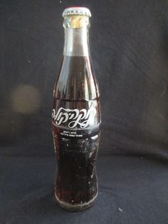 COCA COLA ISRAEL: AN OLD 250ml GLASS BOTTLE, 1st PRODUCTION TYPE, FROM LATE 60's. Condition: the bottle is in a good condition .