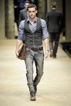 D&G - Milan Fashion Week Menswear S/S 2010