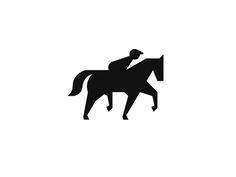 Racing Horse Logo Design by Mateusz Nieckarz #Design Popular #Dribbble #shots