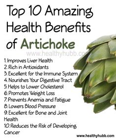 10 Amazing Health Benefits of Artichokes! #wellness #nutrition #healthy #food…
