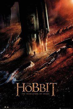 LE HOBBIT: LA DÉSOLATION DE SMAUG - Dragon Affiche
