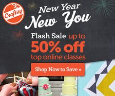 Craftsy Flash Sale...Sew Santa Barbara