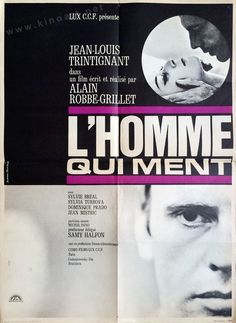 The Man Who Lies (Alain Robbe-Grillet, 1968) French design by Jouineau Bourduge