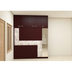 Burbot Wardrobe With Laminate Finish Kapat Bedroom
