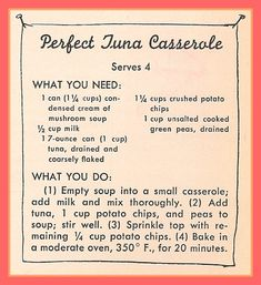 Perfect Tuna Casserole Sisters in the Kitchen — Hey, Little Sister… Tuna Recipes, Old Recipes, Seafood Recipes, Great Recipes, Cooking Recipes, Favorite Recipes, Recipies, Delicious Recipes, Yummy Food