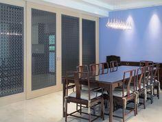 Interior Design of Private Bungalow, Watten Estate, Singapore by Interior Designer Nicholas Merrow-Smith Decoration For Ganpati, Interior Design Singapore, Bungalow, Flooring, Table, Decorating Websites, Furniture, Home Decor, Free