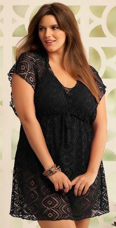 Sexy Plus Size Black Dresses