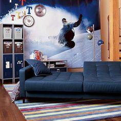 PB Teen Convertible Couch - Design Milk