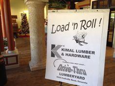 #LoadnRoll Kimal Lumber count down to the opening of their new Drive-Thru lumberyard